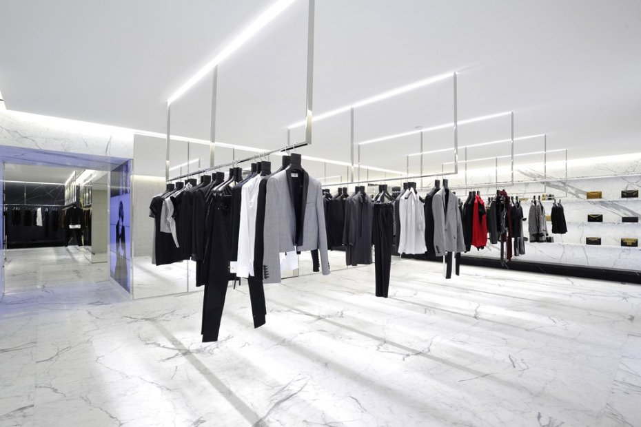 Populaire Saint Laurent's first flagship store – IFA Paris Fashion Blog RK42