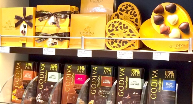 Godiva Chocolate Gift Sets 10-20 €