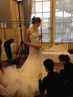 Wedding dress last minute adjustments