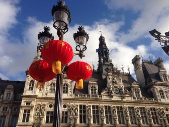 Free day in Paris, Chinese New Year's - Decoration