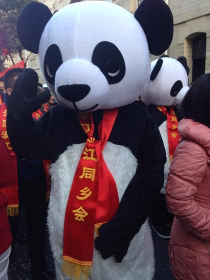 Free day in Paris, Chinese New Year's - Panda