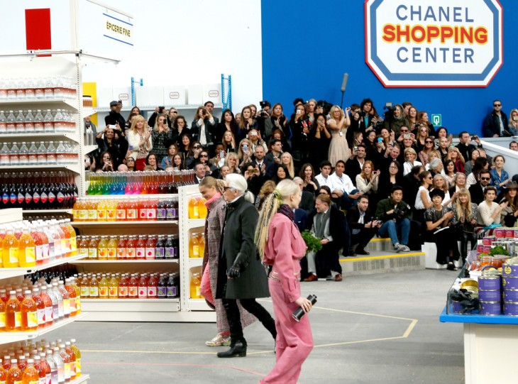 Chanel Grocery Runway