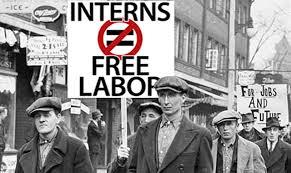 intern free labour