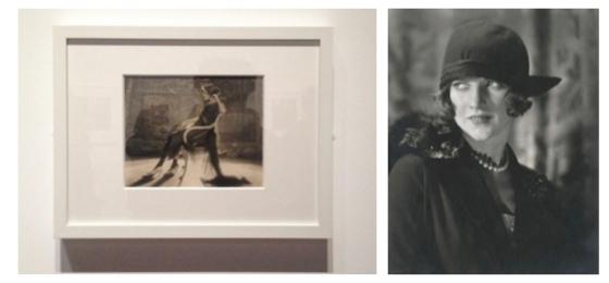 Image 1: Ci-dessous, Baron Adolf de Meyer, Vogue américain, juillet 1919; Image 2: Edward Steichen, Vogue US, December 1923