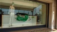 The window display of Hermès
