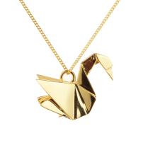 Origami inspired pendant
