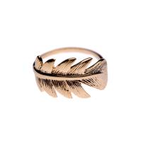 Leaf inspired ring