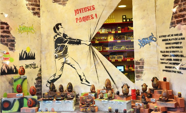 Egg Display at the Jadis et Gourmande Paris