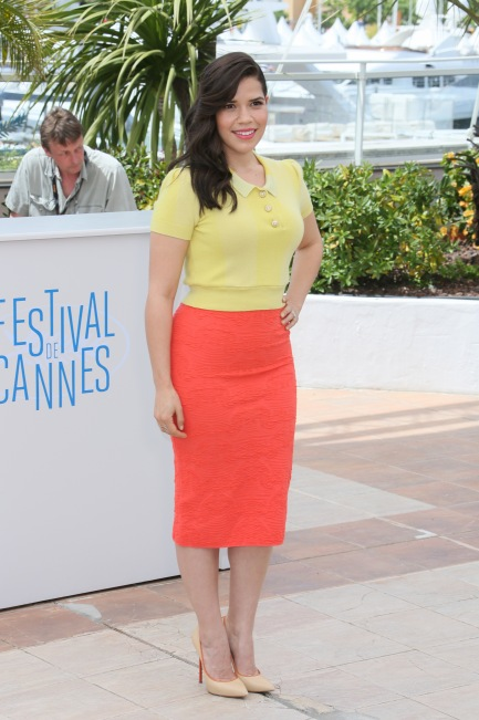 America Ferrera in Louis Vuitton and Missoni