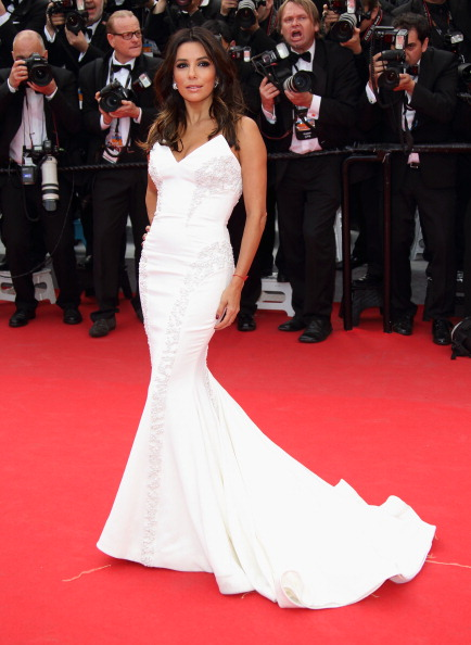 Eva Longoria in Saint Laurent