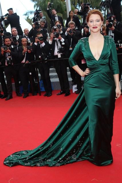 Léa Seydoux in Prada