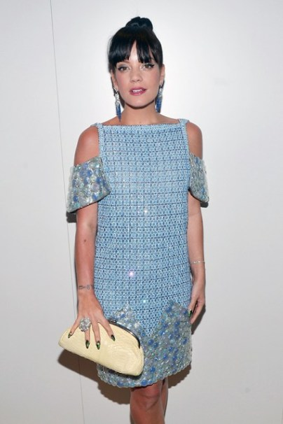 Lily Allen in Chanel Couture