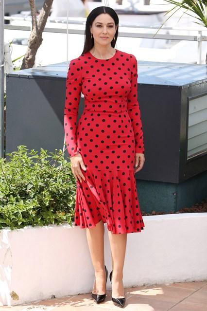 Monica Bellucci in Dolce and Gabbana