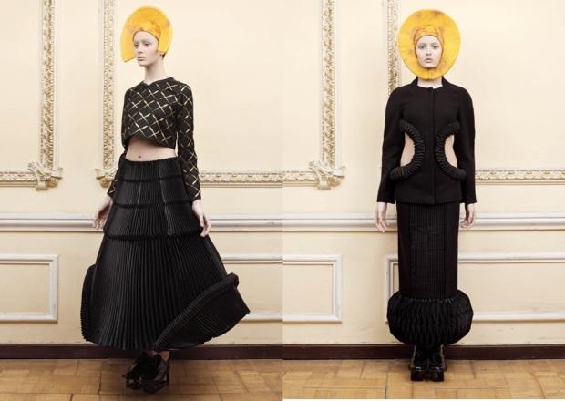 Ria Kuburia at Moscow Fashion Week