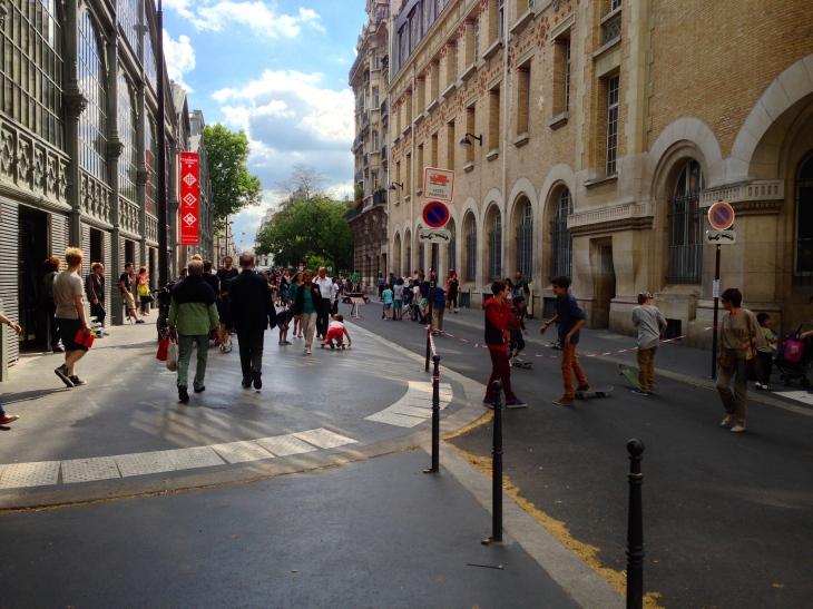Street view Le Carreau du Temple