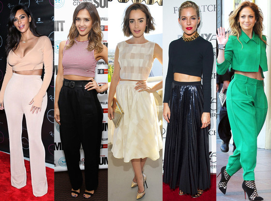Crop Top - 2014 Biggest Trends