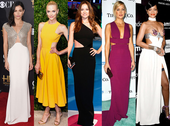 Cut-Out Dresses - 2014 Biggest Trends