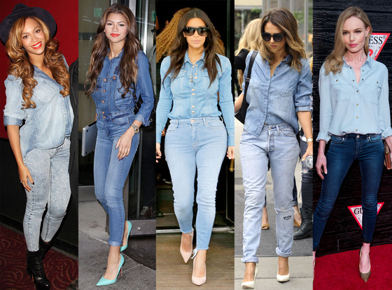 Denim-on-Denim - 2014 Biggest Trends