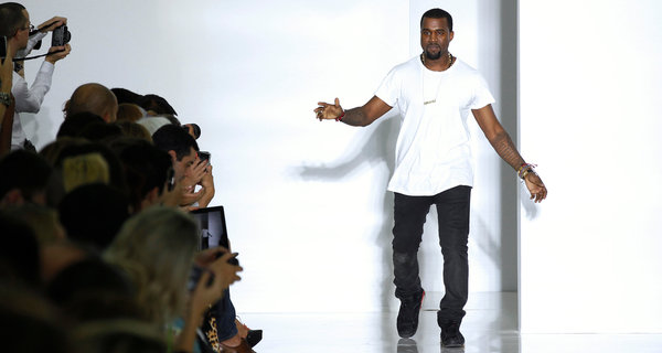 Kanye - Celebrities in Fashion