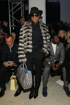 Mary J Blige At the Public School's Show