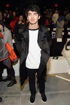Joe Jonas At the Lacoste Show