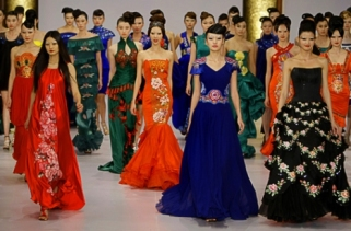 The first China Fashion Week held in Beijing in 1997