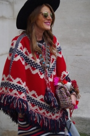 Anna dello Russo at Chanel FW 2015/16