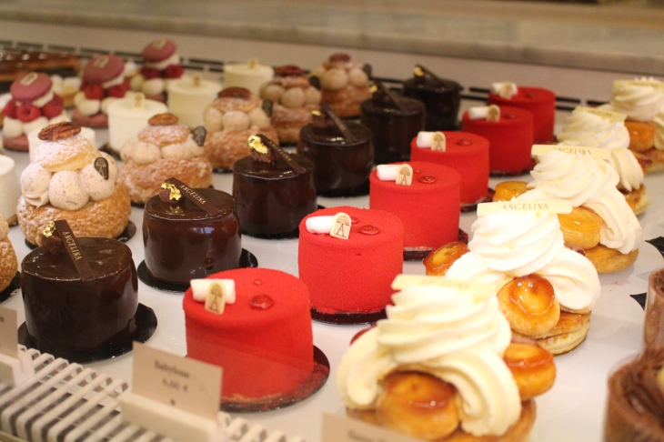 Nice pastries at Anglina's