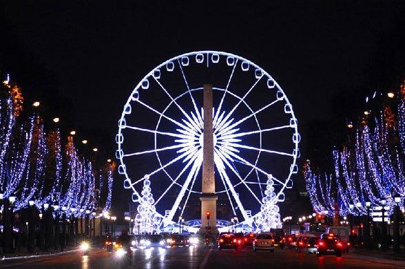 Christmas in paris champs lys es traditional lighting up event cancelled - Illumination a paris ...