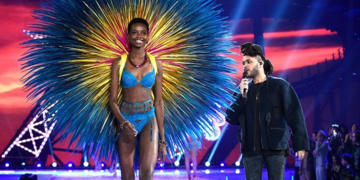 The Weeknd performing at Victoria's Secret Fashion Show 2015 Photo Credit: http://www.harpersbazaar.com/fashion/fashion-week/a11004/victorias-secret-fashion-show-2015/