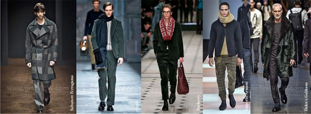 Ferragamo / Fendi / Burberry / Emporio Armani / Dolce e Gabbana