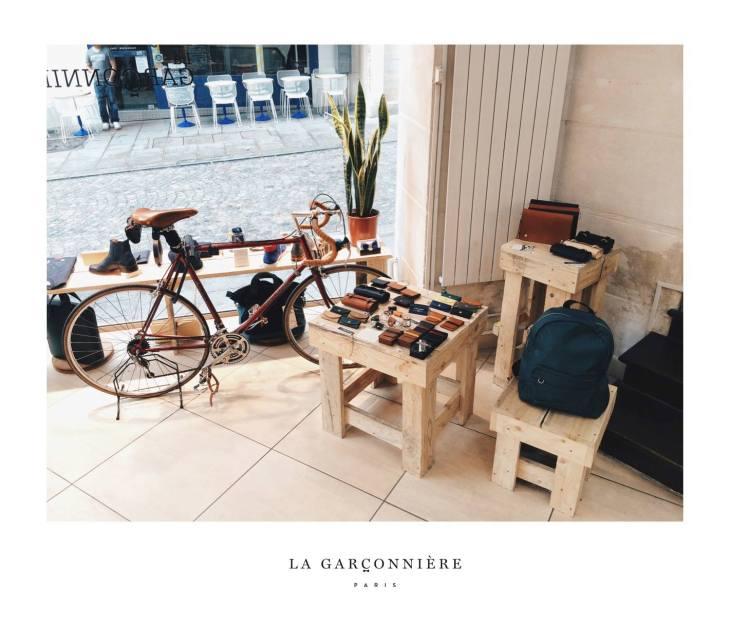 Window Display © La Garçonnière mens accessories paris