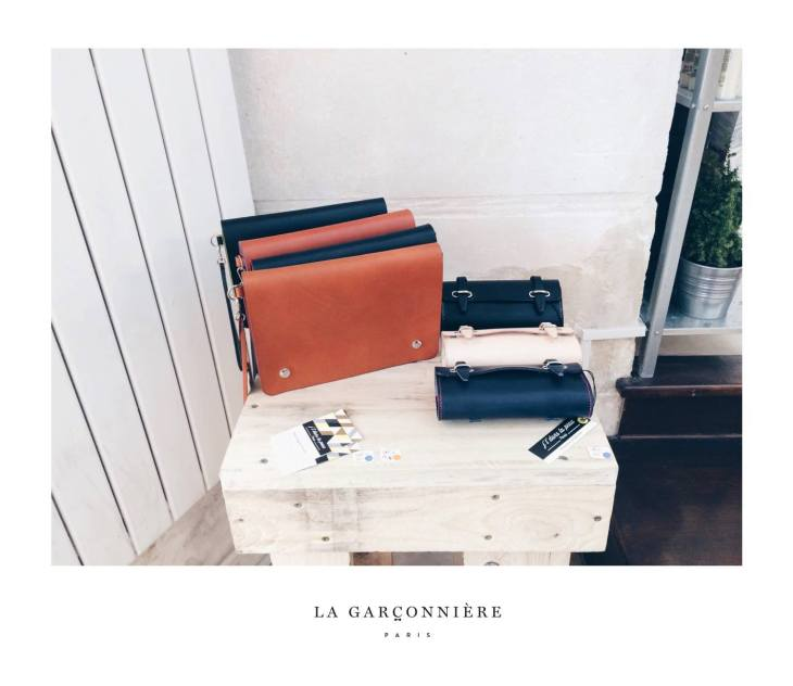 Leather Bags © La Garçonnière mens accessories paris