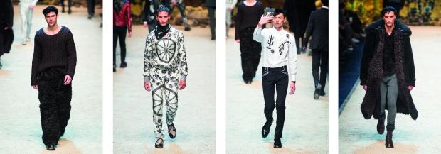 Dolce&Gabbana mens milan 2016