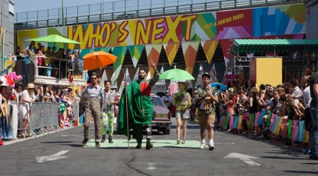 The Who's Next Fashion Parade in 2013. Image credits to Spindle Magazine