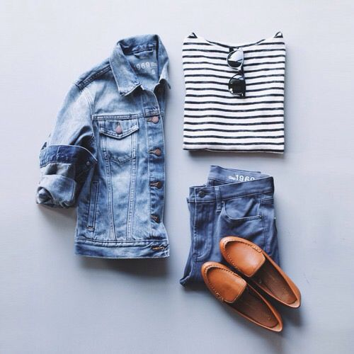 Denim styling idea © Pinterest