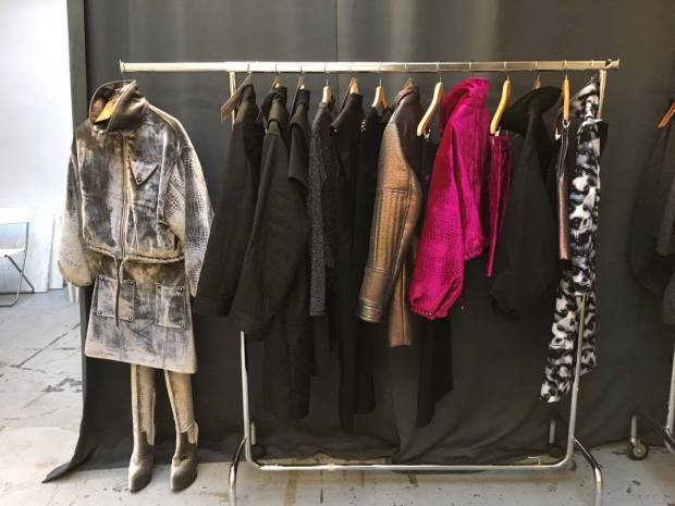 Opening Ceremony showroom clothes display © Emilie Heyl