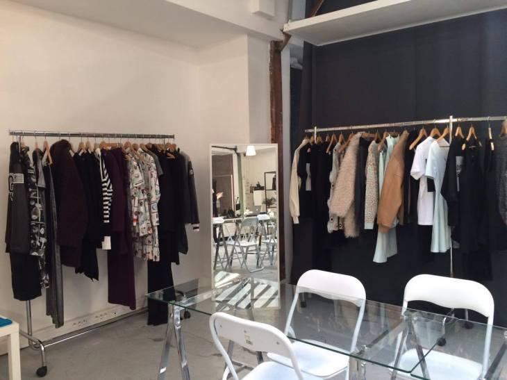 Opening Ceremony showroom clothes display© Emilie Heyl