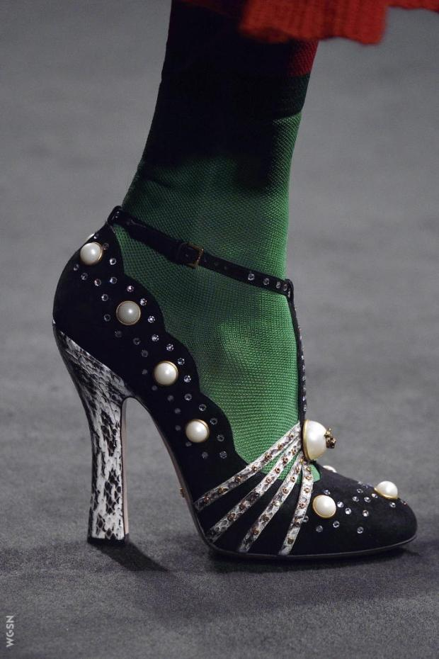 Gucci shoe © WGSN