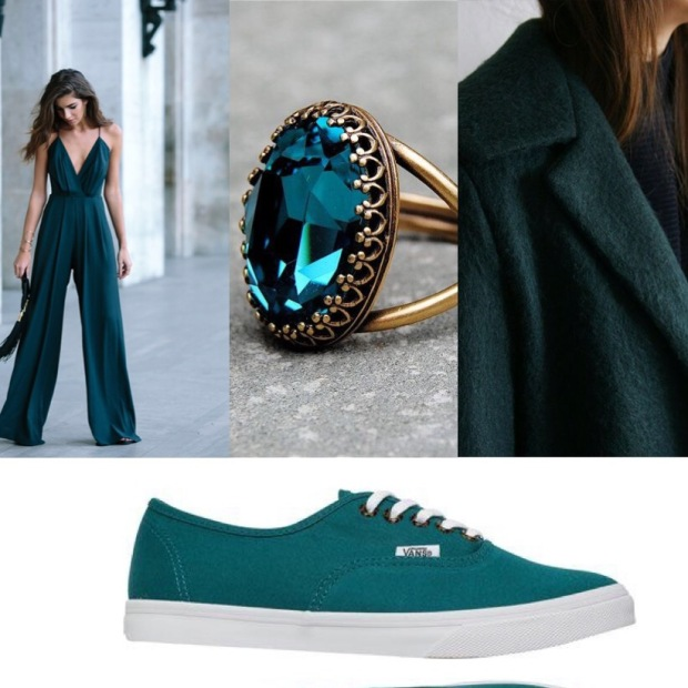 Dark Teal ( Symbolises emotional healing, devotion and uniqueness)