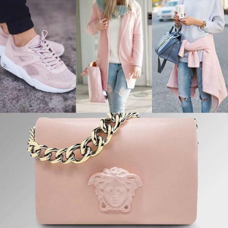 Pastel Pink ( Symbolises youth, energy and fragility)