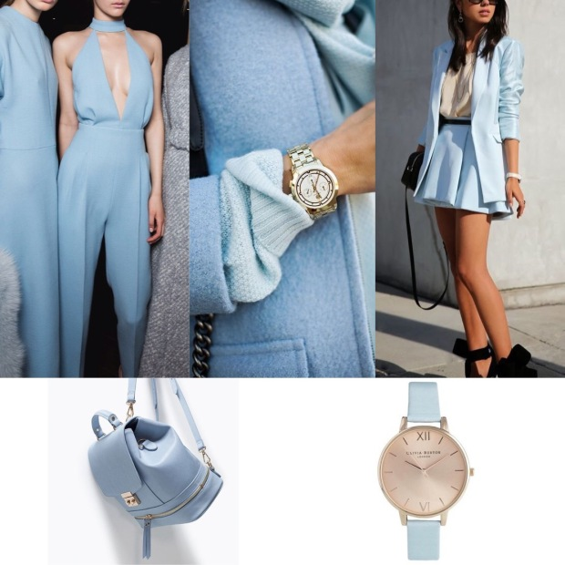 Powder Blue ( Symbolises calm,intuition and serenity)