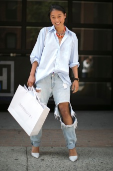 Men's classic white shirt