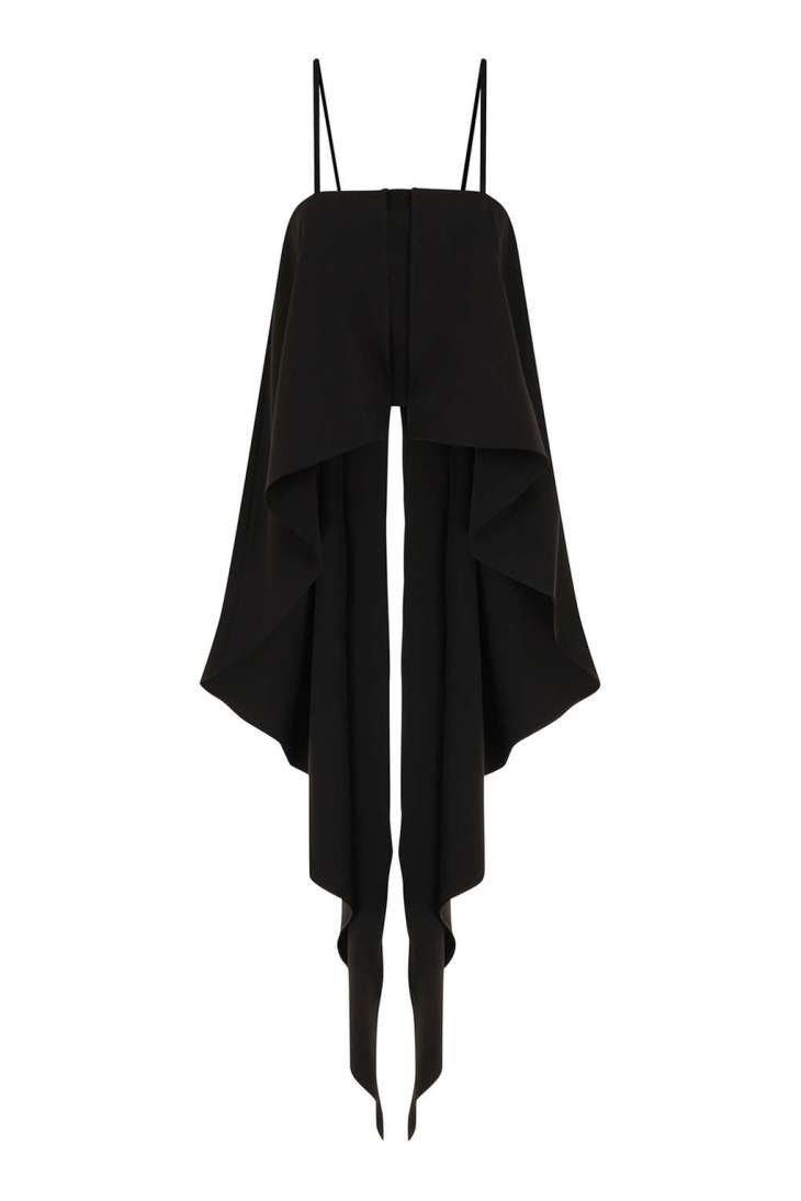 Black Cami Top by Lavish Alice