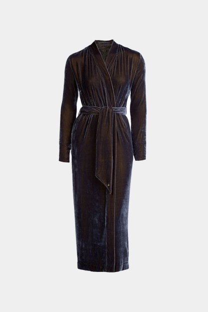 Vibeke Scott Silk Velvet Robe