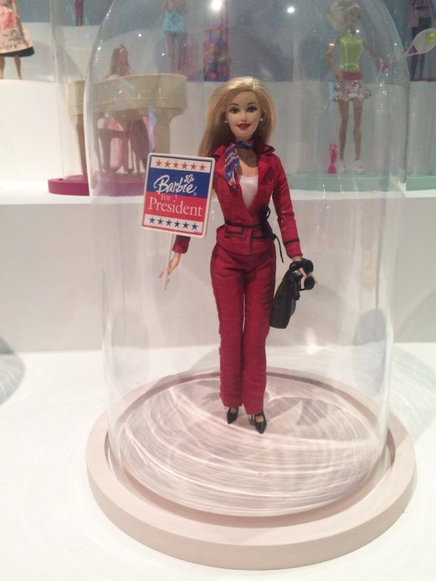 Barbie for President ©Emilie Heyl