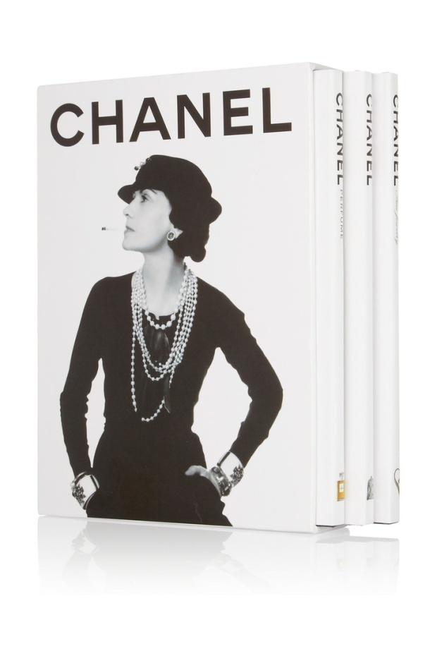 Chanel Three Book Set, Francois Baudot and Francoise Aveline ©Pinterest