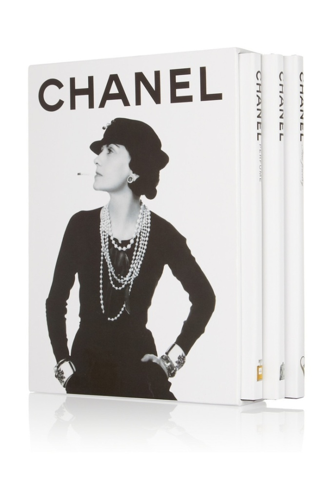 Chanel Three Book Set, Francois Baudot and Francoise Aveline ©Pinterest