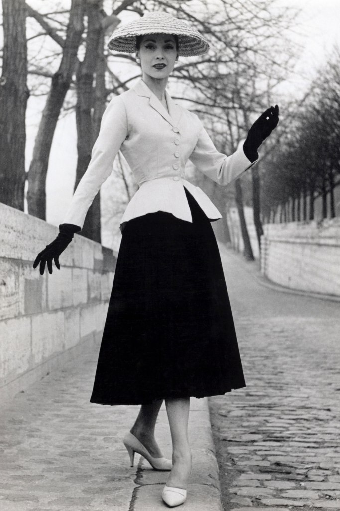 Model wearing the iconic Dior New Look/ ©Vogue