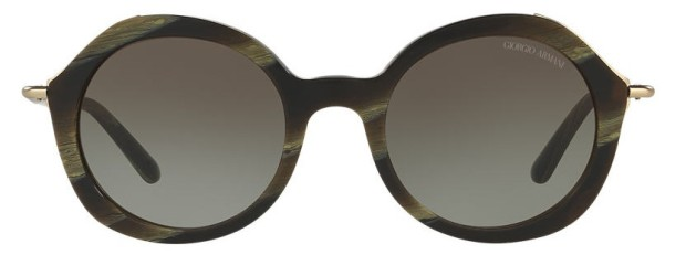 Giorgio Armani Sunglasses in Green with Green Tint Lenses